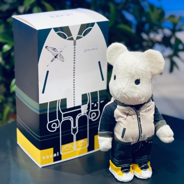 -sacai三代積木熊