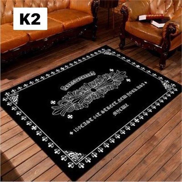 輕奢潮牌地毯客廳茶几小雛菊臥室滿鋪床邊毯服裝店衣帽間拍照地毯 80×120