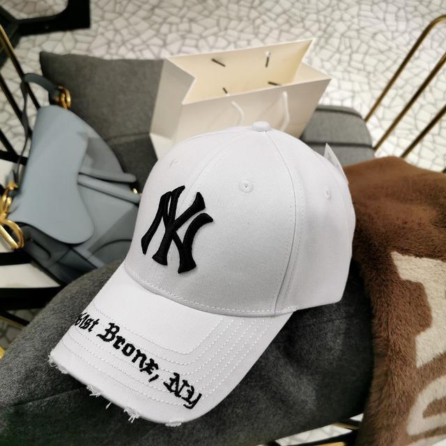 安利这款大logo MLB棒球帽