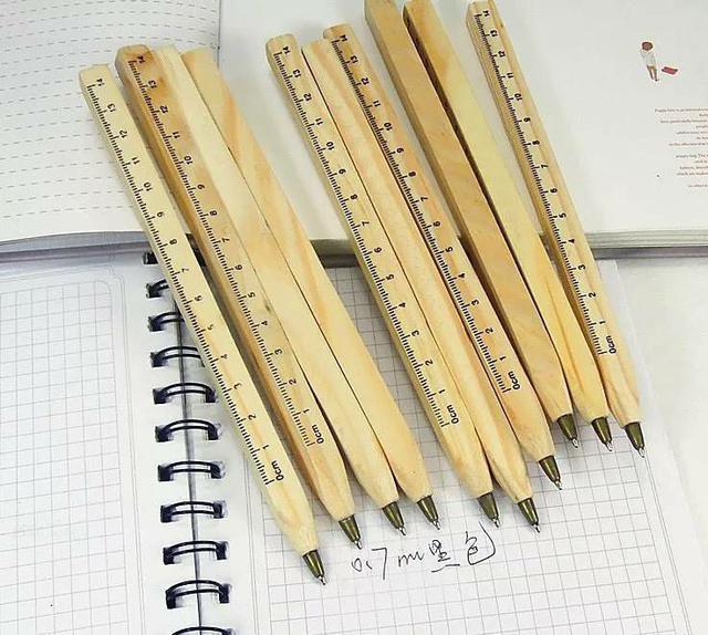 S074-木質原子筆