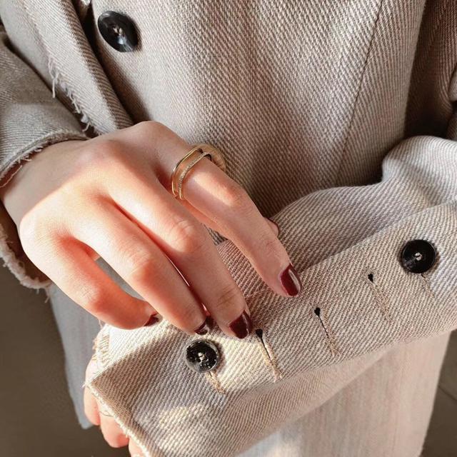 正韓連線 。 東大門飾品代購 N01642  戒指
