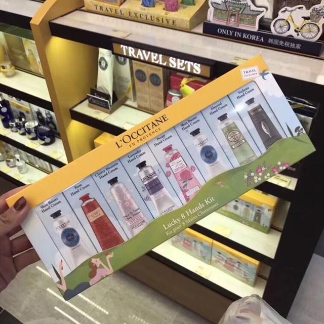 紙盒歐舒丹紀念款護手霜-8條裝
