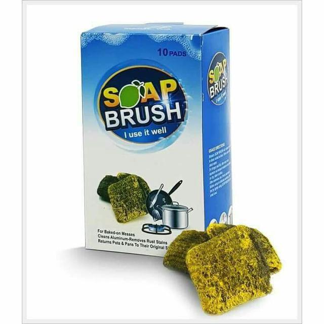 A3🇮🇹義大利🇮🇹Mama Cook-神奇強力去汙皂刷組🍋檸檬香/1盒10入