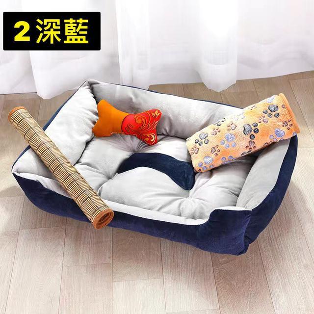 四季通用寵物狗窩墊子泰迪貓窩小型中型大型犬泰迪寵物用品床