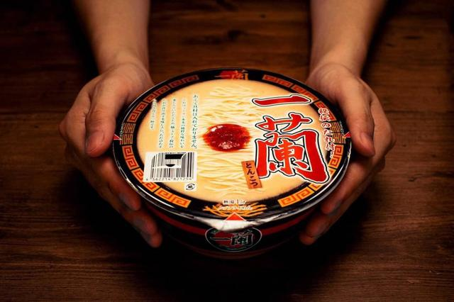 日本一蘭拉麵豚骨泡麵