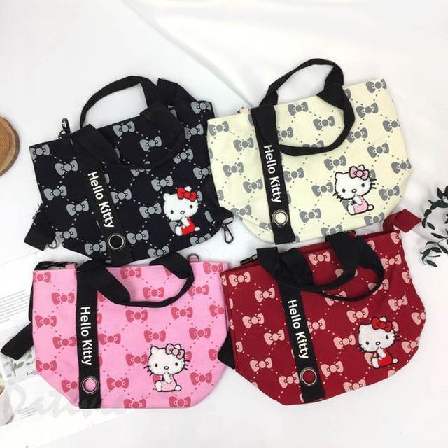 立體繡兩用提袋-凱蒂貓 HELLO KITTY 三麗鷗 Sanrio 正版授權