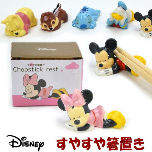 日本🇯🇵迪士尼系列 照型筷架-6個組