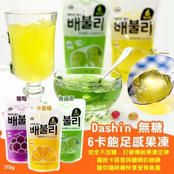 韓國 Dashin 無糖6卡飽足感果凍 170g