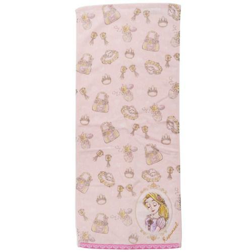 迪士尼公主 長髮公主 毛巾