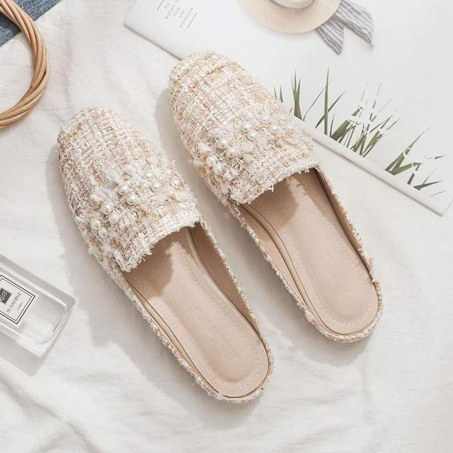 【預購】珍珠懶人拖鞋