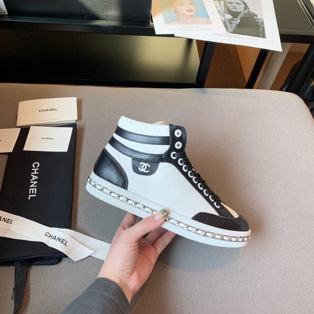 原單品質 CHAMEL 2020早春新款运动鞋,原版定制35-40(40不退不换)三色可选