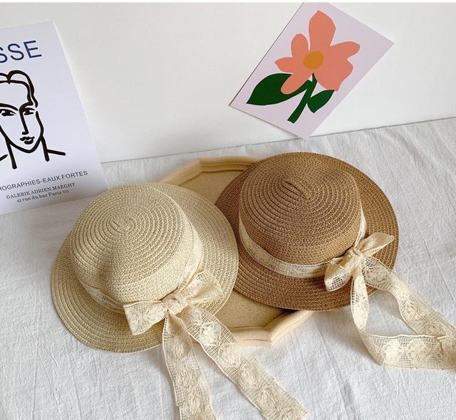 韓單🇰🇷 氣質蕾絲遮陽帽👒