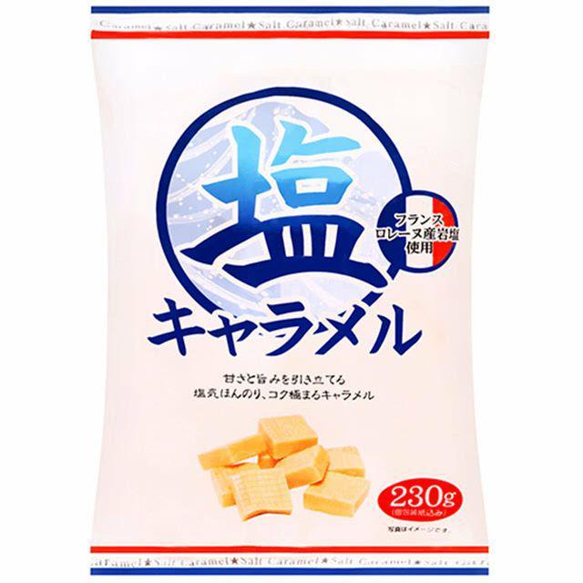 宮田鹽味牛奶糖230g