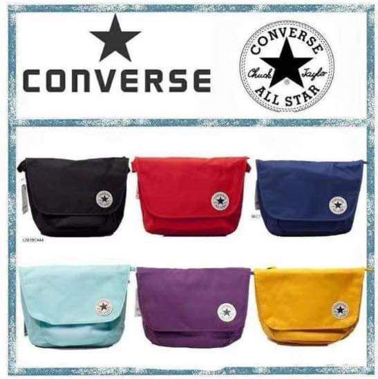 (預購)Converse 男女同款郵差包