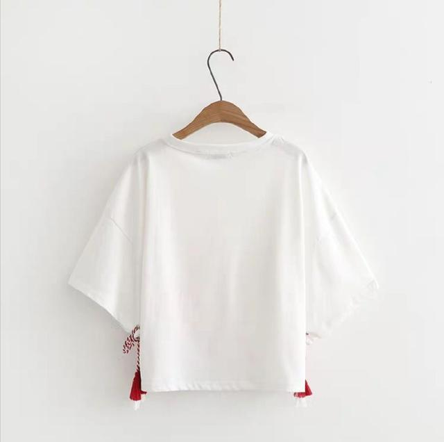 日式女裝短袖恤衫