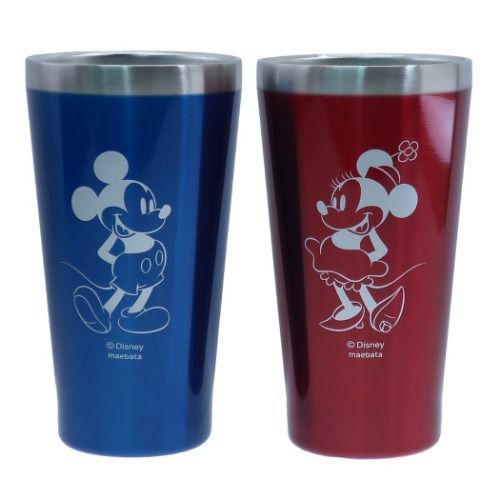 米奇米妮 雙層不鏽鋼 保溫對杯