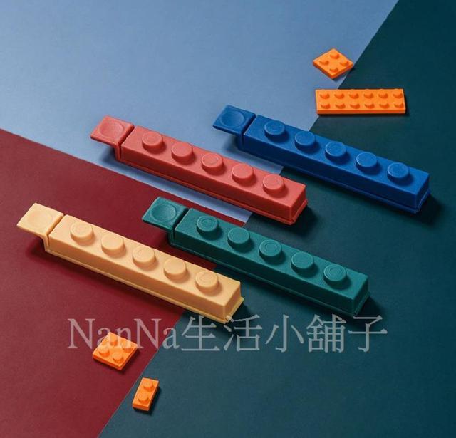 💖現貨💖創意積木造型封口夾