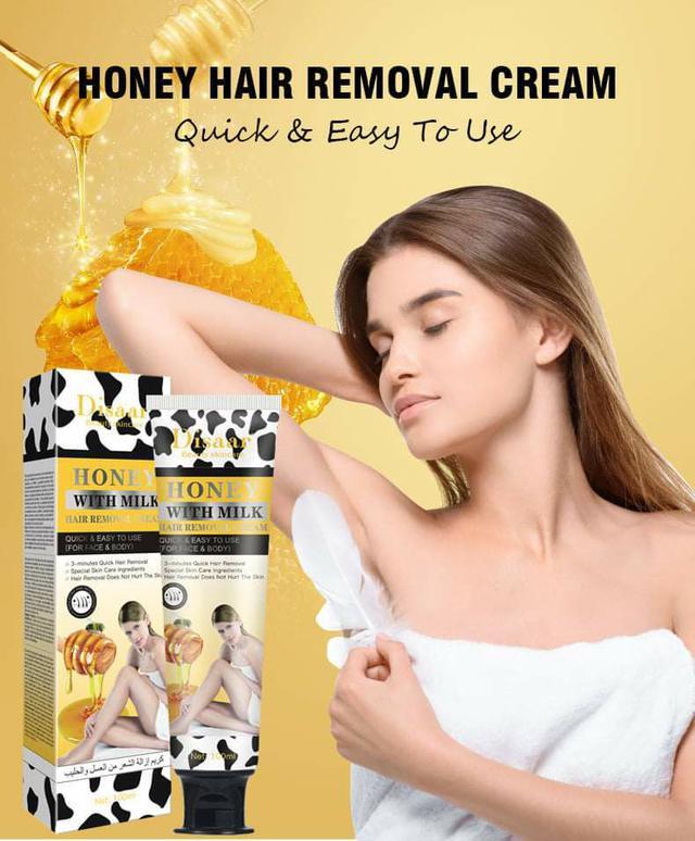 (預購S) A288 - 天然蜂蠟牛奶溫和脫毛膏