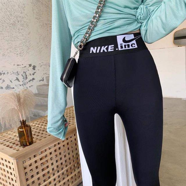 (預購S) 爆款勾勾款彈力顯瘦提臀打底褲