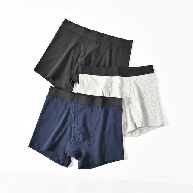【N.T.F-預購款】男士純棉透氣平口褲