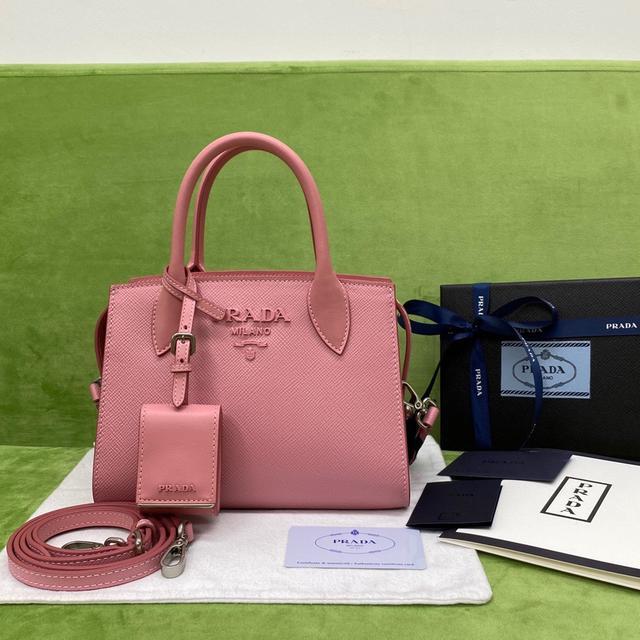 Prada Saffiano皮革手提包