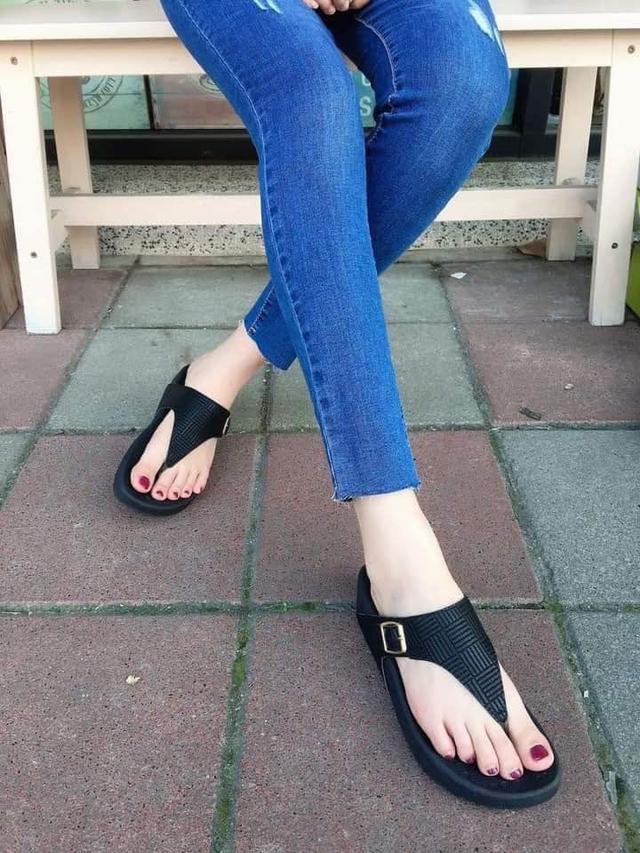 夏季新款厚底防水拖鞋