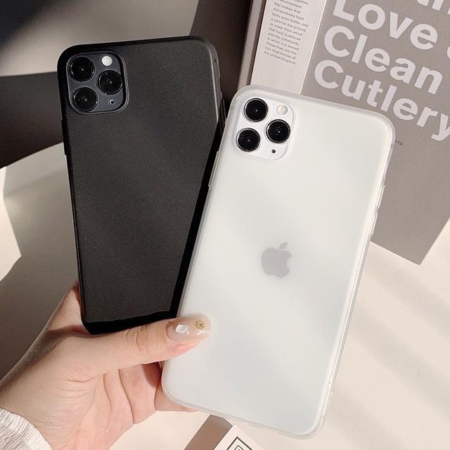 預購 素色簡約風格 iphone手機殼
