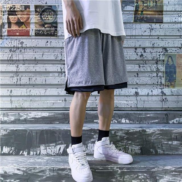 触感一流896867耐克双面刺绣短裤