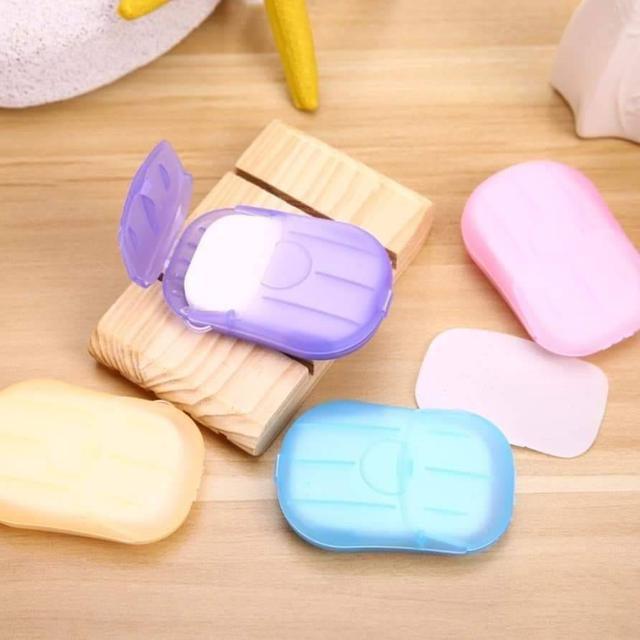 隨身盒紙肥皂