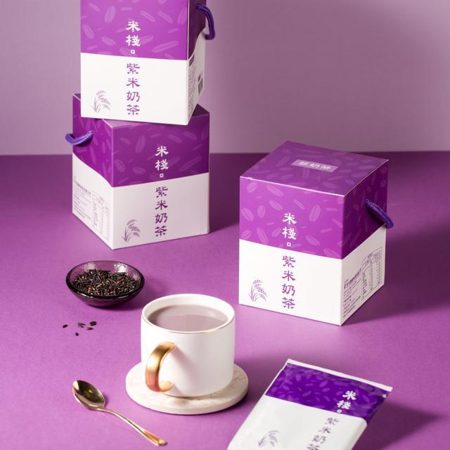 米棧紫米奶茶