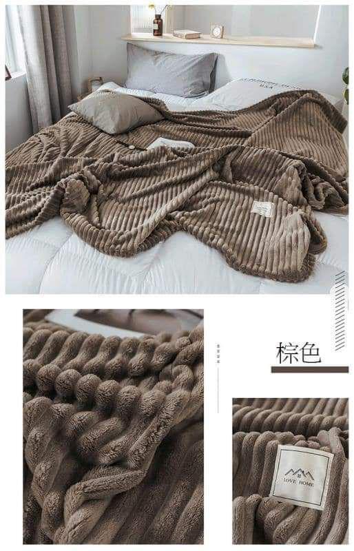 (預購S) 極柔牛奶絨法蘭絨保暖毛毯