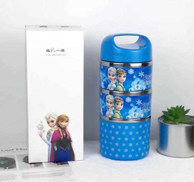 預購商品 11/26結單 迪士尼聯名 卡通保溫便當盒