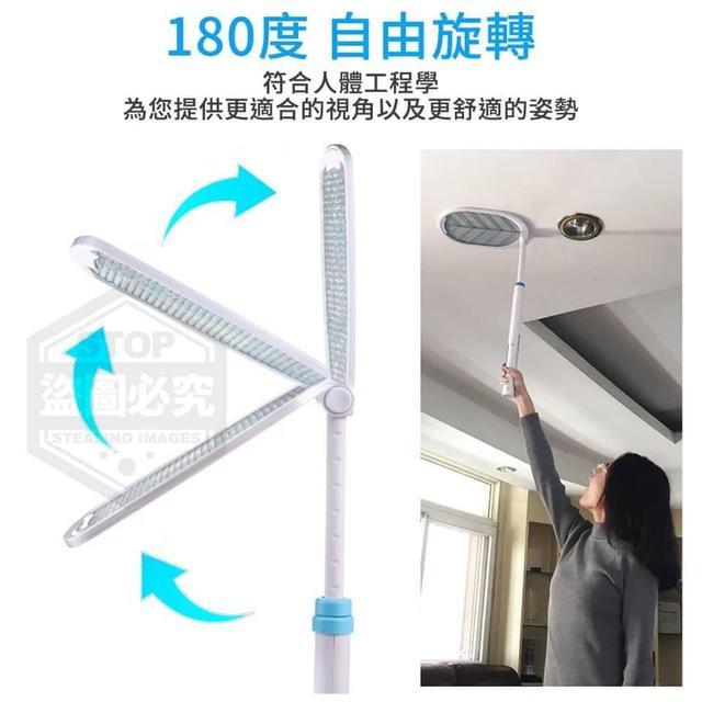 加長型伸縮LED電蚊拍