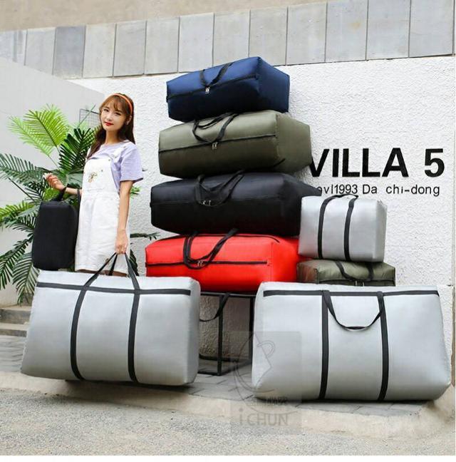 大容量加固升級版收納行李袋【125公升】