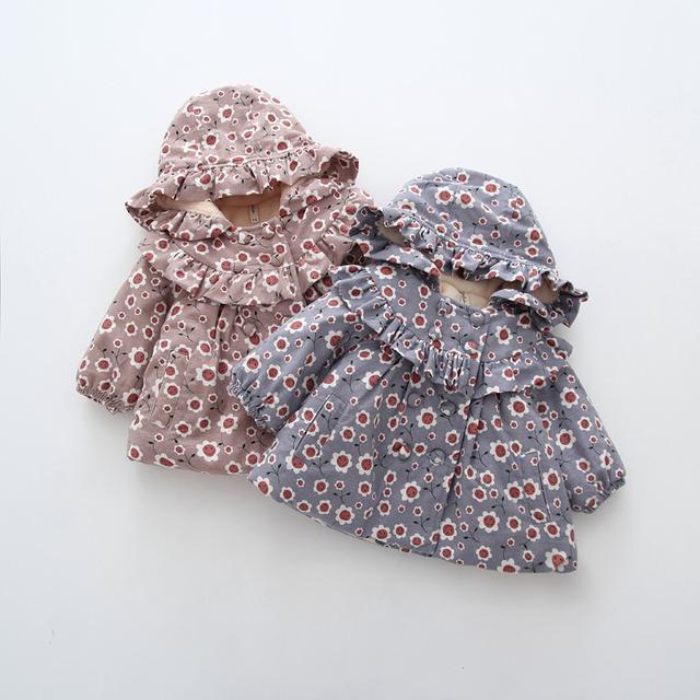 預購-女寶寶加厚加绒棉衣(I)