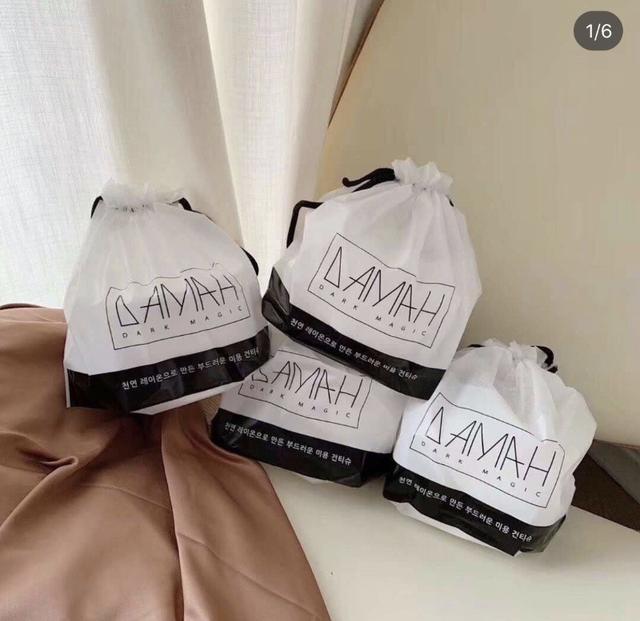 韓國 DAMAH 黑魔法加厚純棉洗臉巾 袋裝 李佳琦推薦
