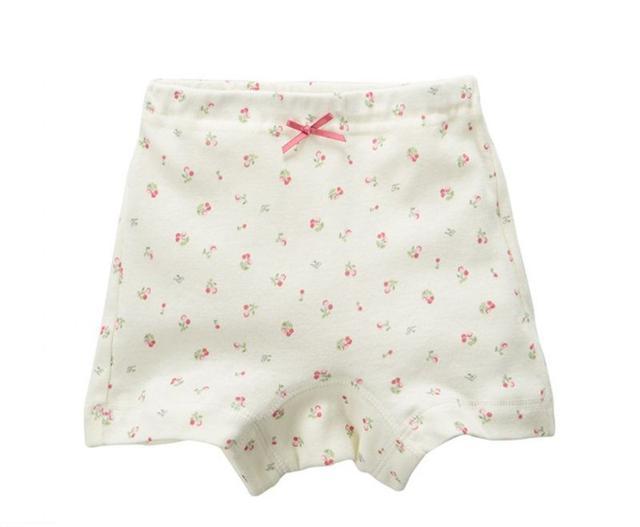 日式女童純棉防走光內搭褲 一分褲3入組