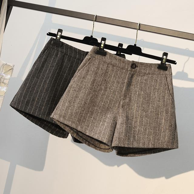10 XL-5XL 大碼秋冬韓版高腰闊腿 兩色