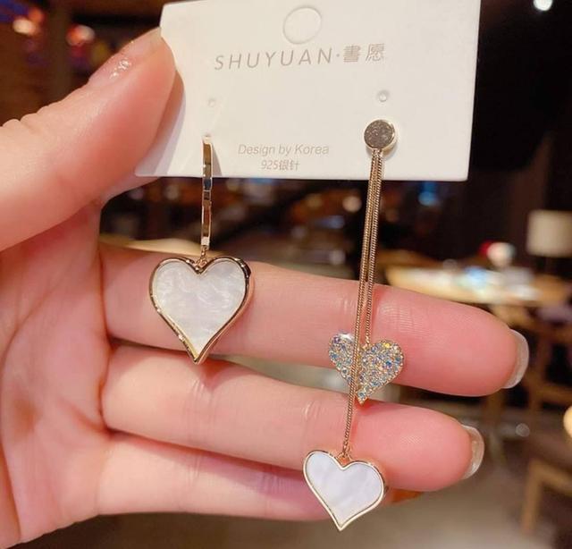 超氣質愛心❤️造型耳環