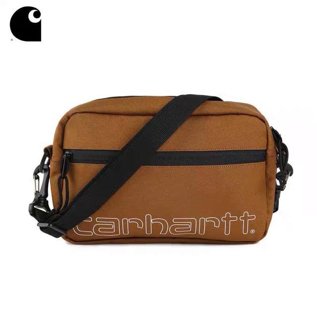 卡哈特carhartt斜挎包单肩包wip Essentials bag小包多隔层功能性 斜挎包