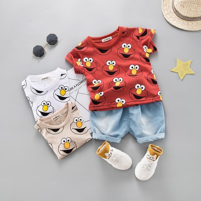🍁預購/寶寶兒童短袖短裤套装