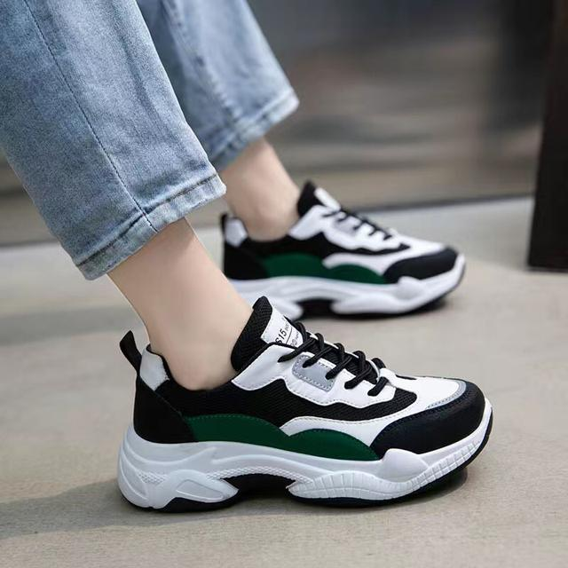 老爹鞋2020秋冬新款鞋子女學生韓版百搭厚底加絨棉鞋跑步潮運動鞋