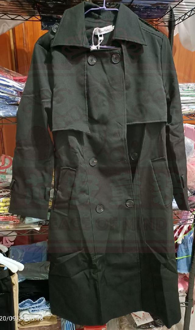 【預購】韓版風衣外套