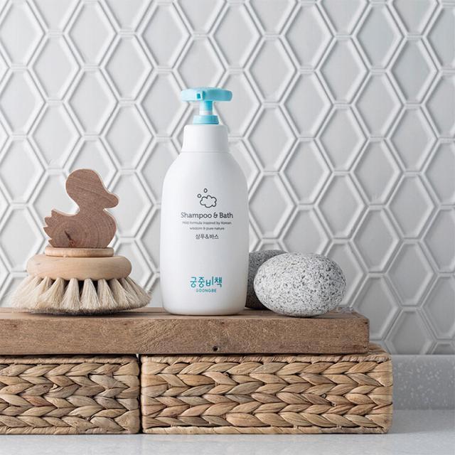 宮中秘策/GOONGSECRET嬰幼兒洗髮&沐浴露 寶寶清潔正品批發