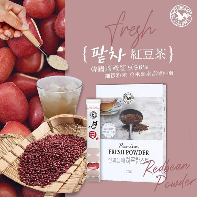 預購 韓國 紅豆茶 5g x 10入