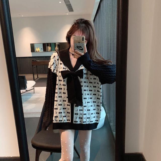 韩版小香风毛衣