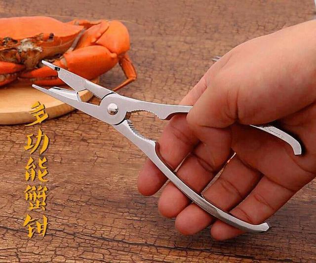 (預購S) G511 - 304不銹鋼吃蟹神器二件套