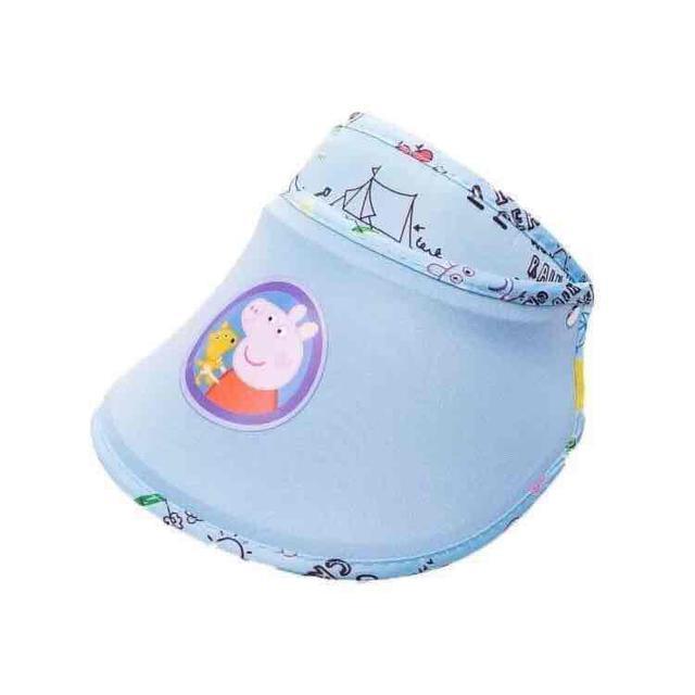✨卡通豬兒童遮陽帽✨  約2-10歲兒童適用