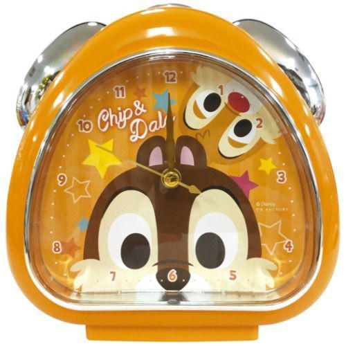 迪士尼 奇奇蒂蒂 飯糰造型 鬧鐘 時鐘
