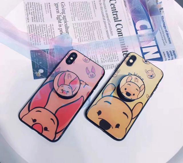 卡通氣囊支架iphone保護殼